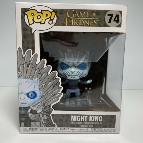 Funko Pop Game Of Thrones Night King on Iron Throne #74 Vinyl Figure
