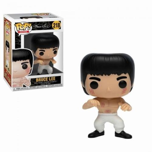 Funko Pop Bruce Lee #218 Enter the Dragon White Pants Vinyl Figure