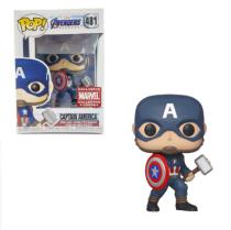 Funko PoP Captain America 481 Exclusive Vinyl Figure