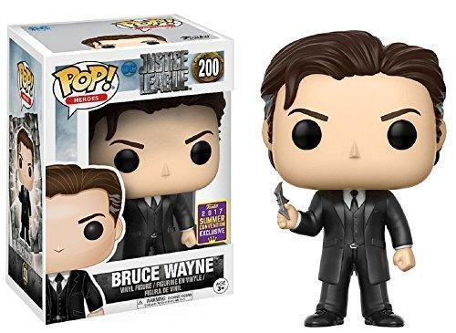 Funko Pop Batman Bruce Wayne Summer Convention #200 Vinyl Figure