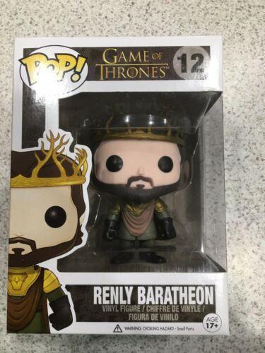 Funko Pop Renly Baratheon of Thrones#12 Vinyl Figure