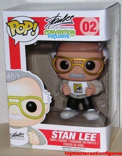 Funko Pop Stan Lee #02 Marvel Signature Vinyl Figure