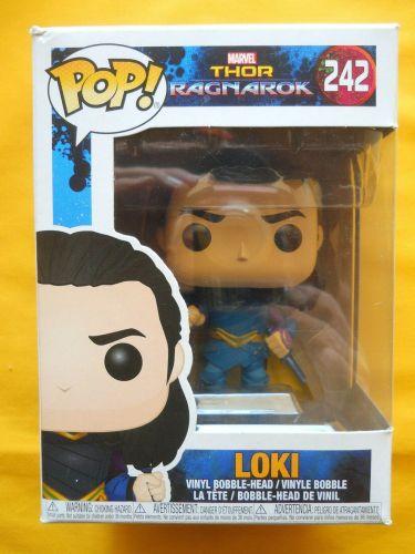 Funko Pop Marvel Ragnarok Loki #242 Vinyl Figure