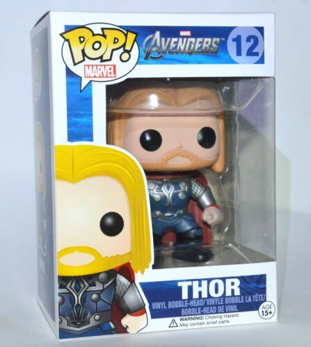 Funko POP Marvel Avengers Thor #12 Vinyl Figure