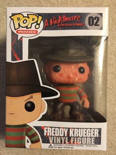 Funko Pop Freddy Krueger #02 A Nightmare On Elm Street
