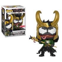 Funko Pop Marvel Venomized Loki #368 Vinyl Figure