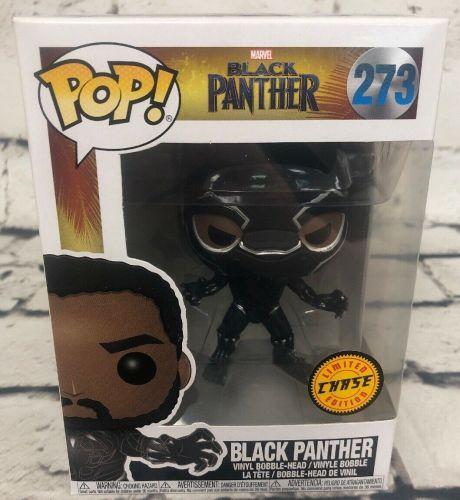 Funko Pop Chase Pieces Black Panther #273 Vinyl Figure