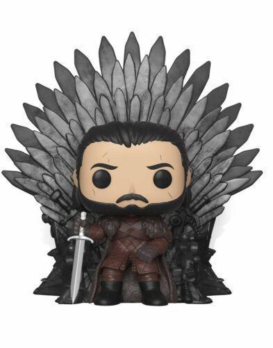 Funko Pop Game of Thrones: Jon Snow on Throne #72  MINT  Vinyl Figure