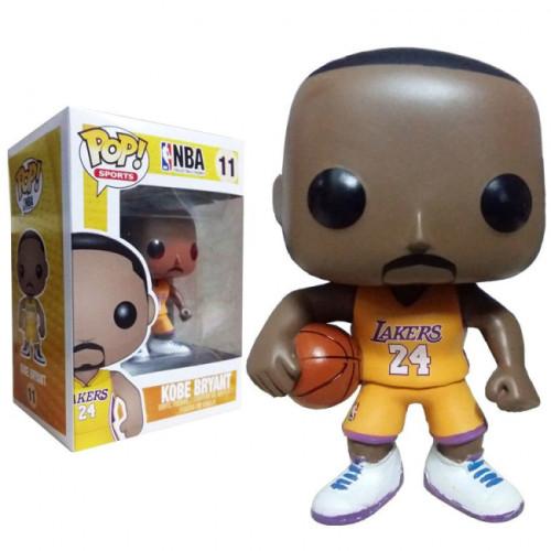 Funko Pop NBA Kobe Bryant Gold Jersey #11 Vinyl Figure