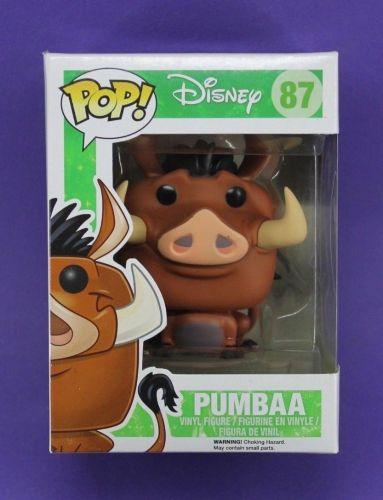 Funko Pop The Lion King Pumbaa #87 Vinyl Figure