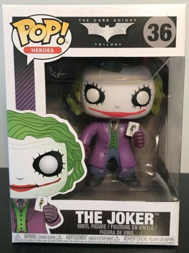 Funko Pop! DC Heroes: The Dark Knight - The Joker #36 Vinyl Figure