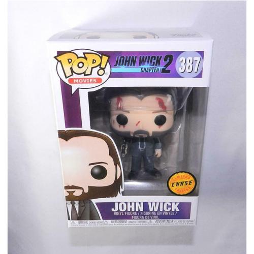 Funko Pop John Wick #387 (Bloody) Chase Vinyl Figure