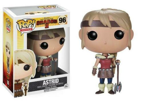 Funko Pop Astrid #96 How to Train Your Dragon