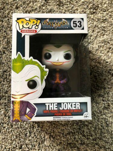 Funko Pop The Joker 53 Batman Arkam Asylum
