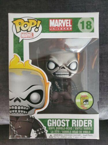 Funko Pop Ghost Rider#18(Metallic)Exclusive 2013 SDCC LE 480 PCS