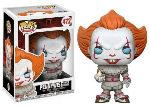 Funko Pop IT Pennywise With Boat #472 Vinyl Figure
