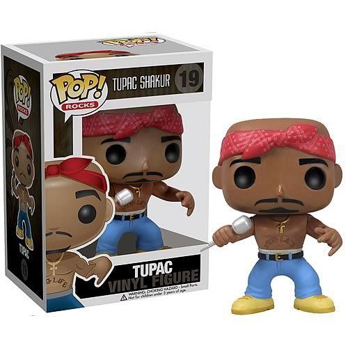 Funko Pop Tupac #19 Rocks Shakur Vinyl Figure