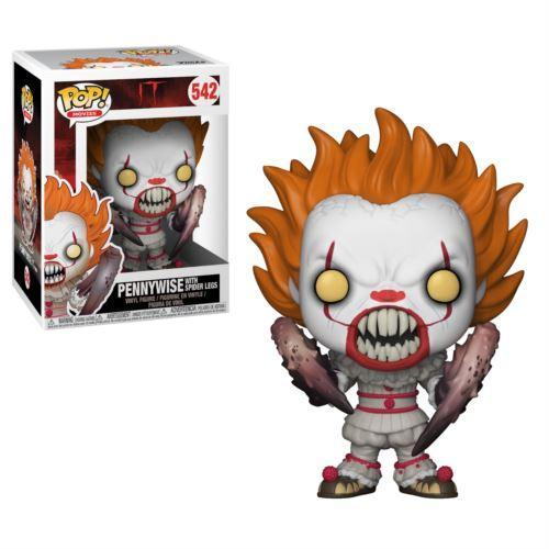 Funko Pop Pennywise with Spider Legs IT #542 Vinyl Figure