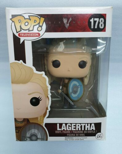 Funko Pop Lagertha #178 Vikings Brand New