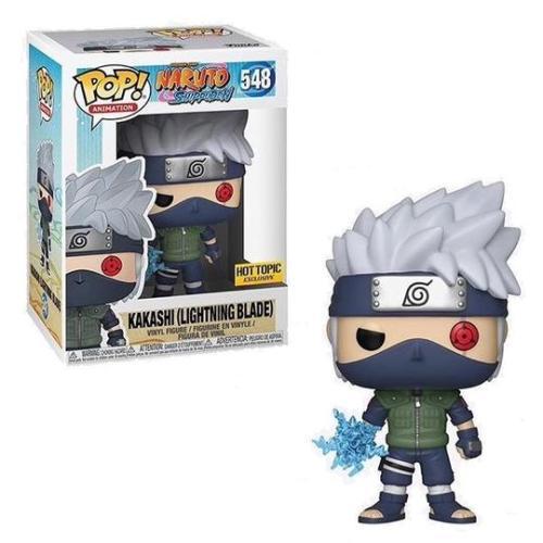 Funko Pop Naruto Shippuden Kakashi 548 with Lightning Blade Hot Topic Exclusive
