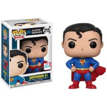 Funko Pop DC Heroes Superman#215 2017 Fall Convention Exclusive