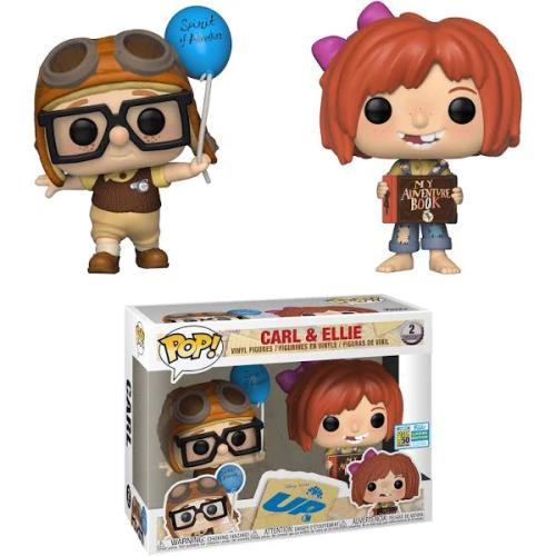 Funko Pop Disney -! Pixar  UP  Carl and Ellie summer 2019 Convention