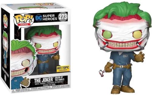 Funko POP EXCLUSIVE Death of the Family Joker #273 DC Comics Vinyl Figure