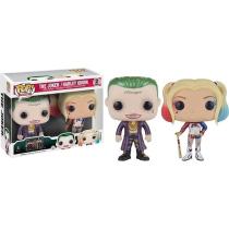 Funko Pop! The Joker and Harley Quinn 2 Pack FYE Exclusive