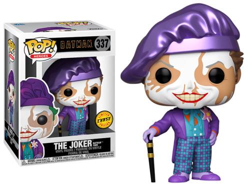 Funko Pop! Heroes: Batman (1989) - The Joker (Chase)