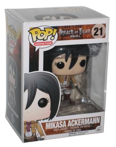 Funko Pop! Animation Attack On Titan Mikasa Ackerman Figure #21