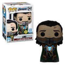 Funko Pop! Marvel: Avengers Endgame - Loki with Glow-in-The-Dark 747 Tesseract