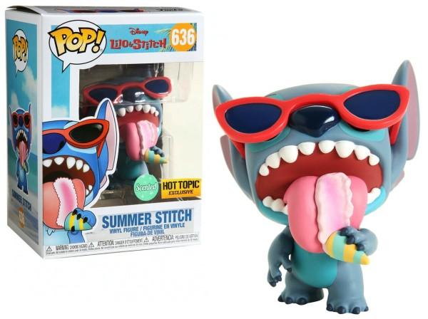 Funko Lilo & Stitch POP! Disney Summer Stitch Exclusive Vinyl Figure #636