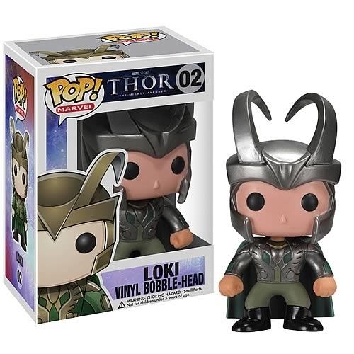 Funko Pop Marvel Loki 02 Thor movie Vaulted With Hard Protector