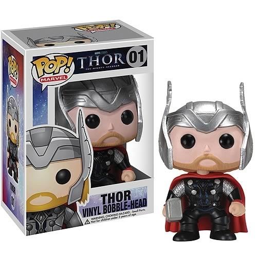 Funko Pop! Marvel Thor 01 Bobble-Head Figure