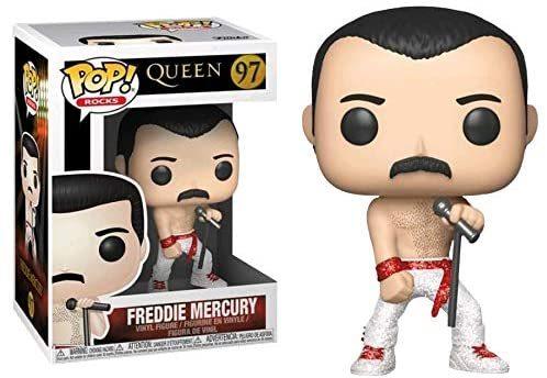 Funko Pop Freddie Mercury #97 Diamond Collection Exclusive