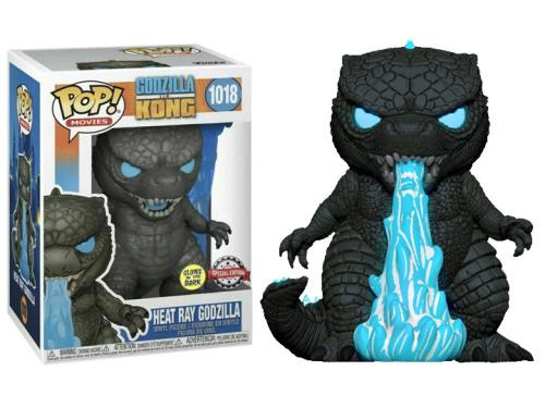 Funko Pop! Movies: Godzilla vs. Kong - Heat Ray Godzilla (Glow-in-the-Dark) Exclusive