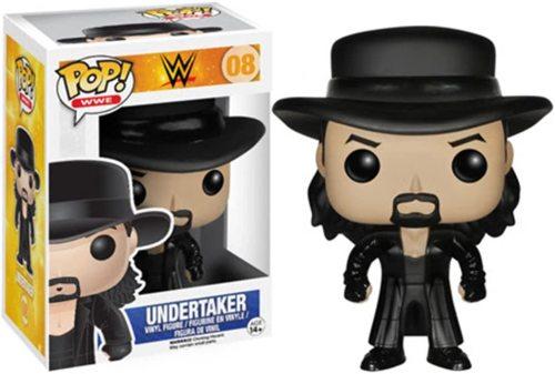 Funko Pop WWE: The Undertaker 08 vinyl Figure