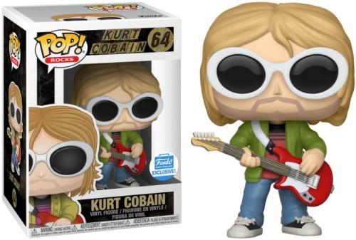 Funko Pop Kurt Cobain 64 Vinyl Figure