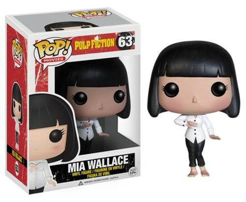 Funko Pop Pulp Fiction Movies Mia Wallace 63  Vinyl Figure