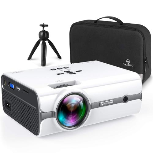 ON SALE!TODAY ONLY $19.99 !! Mini Projector with 1080P Supported, enjoy the cinema effect without leaving home!