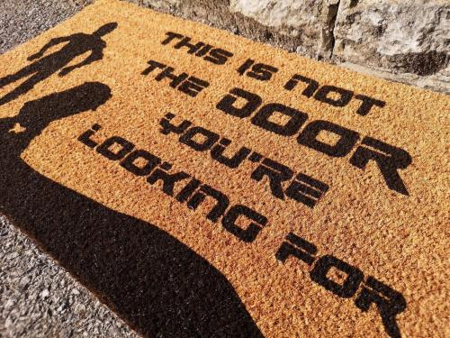 Star Wars Inspired Doormat