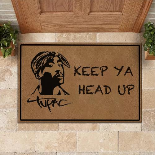 Tupac Shakur Doormat