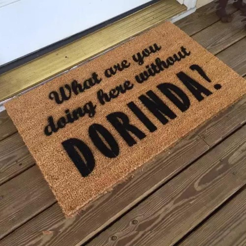 What are you doing here without Dorinda? | RHONY Welcome Mat