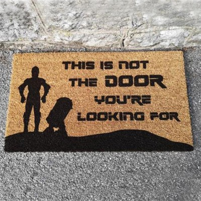 Star Wars Inspired Doormat