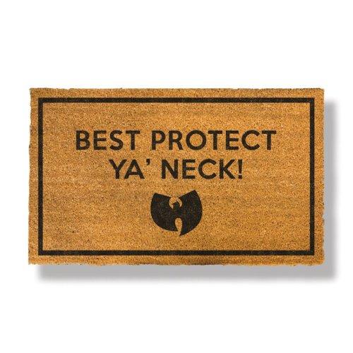 WT Best Protect Ya' Neck Doormat