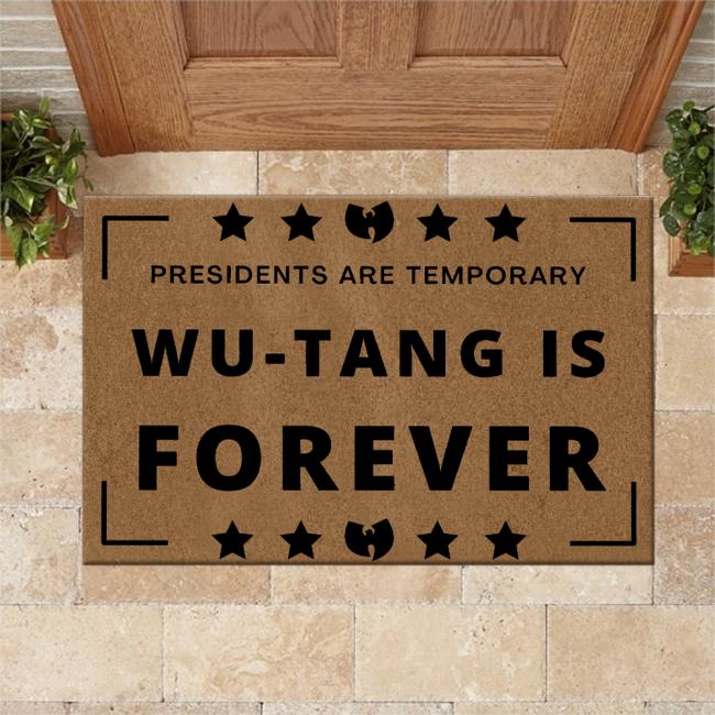 WT Doormat WTIs Forever