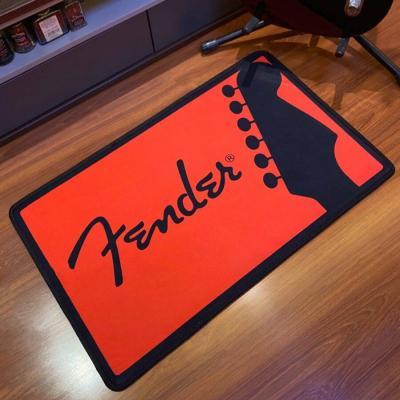 Fender Guitar Printed Rug