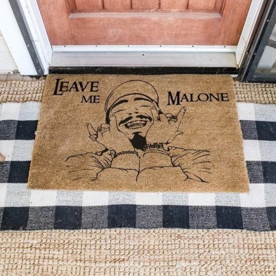 Leave me Malone doormat