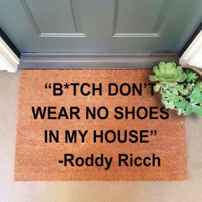 Roddy Ricch Door Mat
