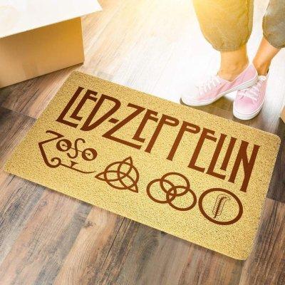 Led Zeppelin Door Mat